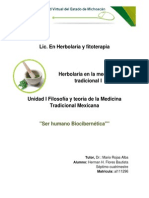 Herman H Flores Unidad 1 Organicidad Del Ser y Sus Centros Animicos 2014