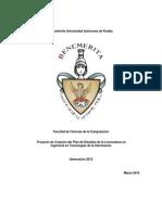 Programa Academico Ingenieria ITI