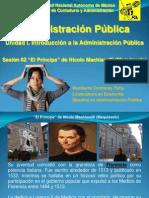 Administración-Püblica-Sesión-02-El Principe-Nicolas-Maquiavelo
