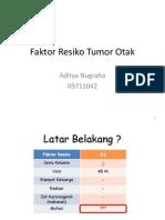 Faktor Resiko Tumor Otak