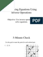 Pre-Algebra Lesson 1.8