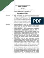 Permendagri Nomor 1 Tahun 2007 Ttg Penataan Ruang Terbuka Hijau Kawasan Perkotaan