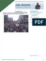 BLOG DO ALUIZIO AMORIM_ PROTESTOS NÃO CESSAM NA VENEZUELA. ESTUDANTES E O POVO NAS RUAS DE TODO O PAÍS. REGIME COMUNISTA DE MADURO ACUSADO DE USAR ARMAS QUÍMICAS CONTRA MANIFESTANTES
