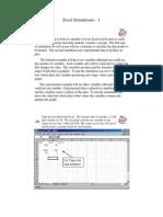 Excel 2000 Simulations