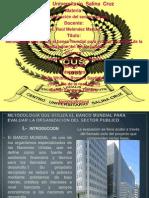 Banco Mundial y Sector Publico