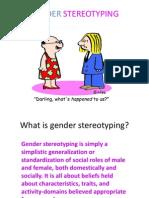Gender Stereotyping
