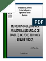 Tuneles Metodo de Kirsch