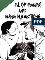 Gang History Gang Injunctions