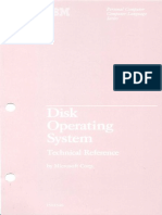 1502346 DOS 2.10 Technical Reference Sep83