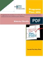 Filosofia Fines 2014
