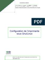 Configuration de l'Imprimante Sous Gnu-Linux