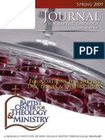 The Journal for Baptist Theology and Ministry -  Spring 2009