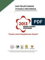 Naskah Piagam Pelestarian Kota Pusaka Indonesia 2013