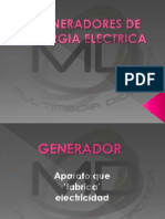Alternadores y Generadores