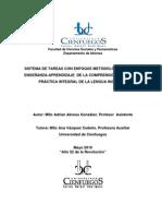 sistema de tareas con enfoque metodologico para la E-Ade la comprensión auditiva en ingles.pdf