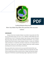 Profil BWiprofil kabupaten banyuwangiprofil kabupaten banyuwangi