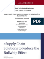 eSupply Chain Solutions to Reduce the Bullwhip Effect - EBC6230