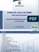 Local de crime_Tecnicas Isolamento e preservaçãol_MT