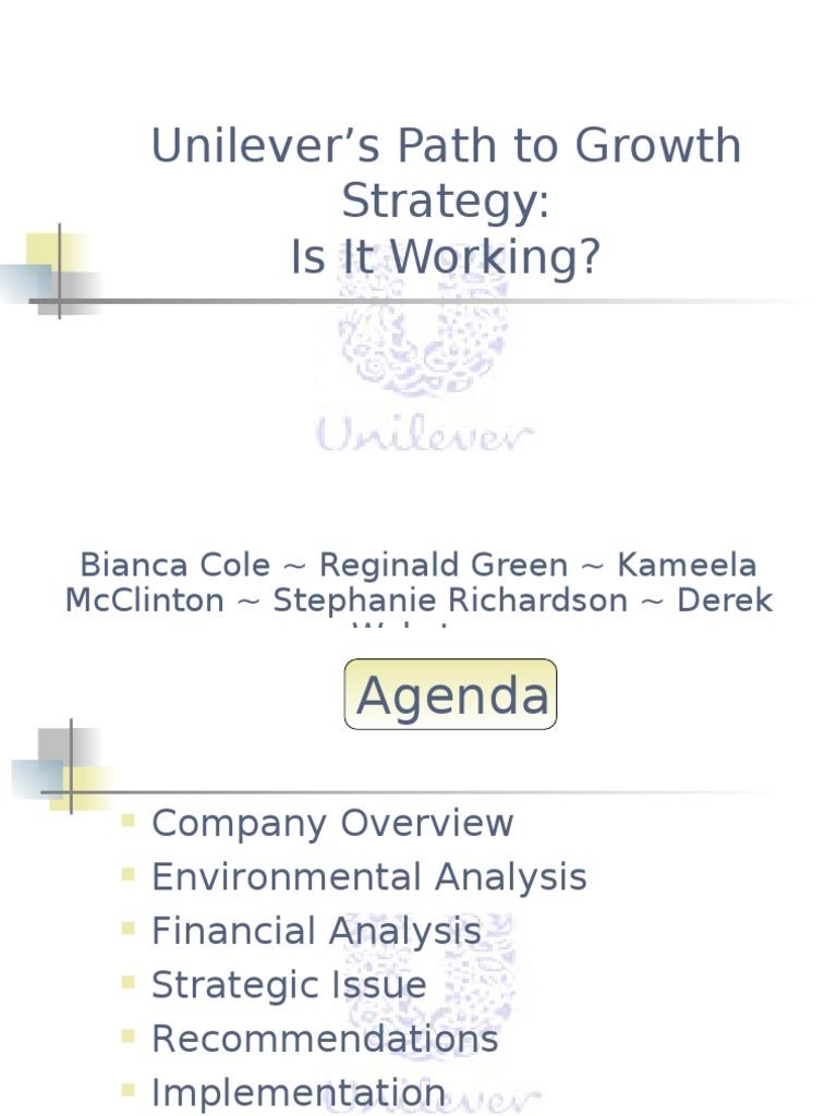 strategic management and unilever Unilever deploys master data management to support global strategy 05/20/ 2008 unilever implements sap ag's netweaver master data management (sap .