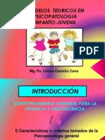 Teorias Psicopatologia Infantil Ust