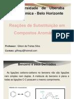 substitui-¦ção em compostos arom-¦áticos (1)