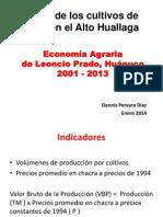 Economia Agraria de Leoncio Prado 2001 2013