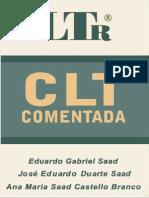 CLT Comentada - 2004 - LIVRO - Direito Trabalho - Saad, Eduardo