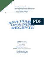 analisis+literario+DE+LA+OBRA+ANA+ISABEL+UNA+NIÑA+DECENTE