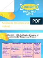 Injury and Accident Records