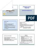 Principios Generales de Farmacologia 2013-I