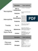 Tabela de Hormônios, suas funções e características importantes.xlsx
