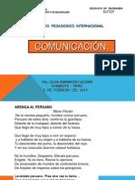 COMUNICACION SUTEP 2014