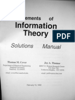 elements of information theory maual solutions