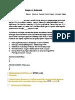 Teks Ucapan MC Kejohanan Olahraga Dan Sukaneka PPKI