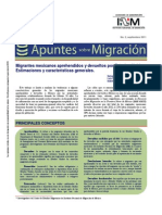 Migrantes Mexicanos Aprehendidos y Devueltos Por Estados Unidos, Berumen Sandoval, Salvador