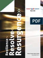 Annual Report - Maruti Suzuki Annual Report - Maruti Suzuki