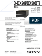 Sony Hcd Gtr333 Gtr555 Gtr777 Gtr888 Diagrama | Frequency Modulation