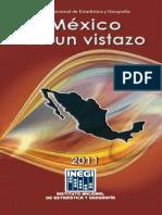 México de un vistazo, instituto nacional de estadistica y geografía