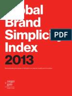 Global Brand Simplicity Index 2013 eBook Spreads FINAL