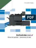 Bizhub Pro c5501 Um Copier Es 1 1 1