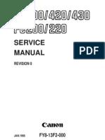 Fc220 Service Manual