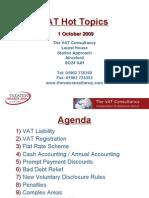 Top ten tips on VAT