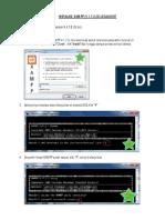 I. Instalasi XAMPP (v.1.7.3) Di LocalHost