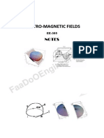 Electro Magnetic Fiields (Emf)Notes