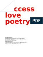 «Success, Love, Poetry»