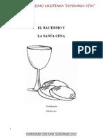 Bautismo y La Santa Cena