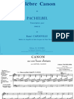 Pachelbel - Canon In D (Re) - Organ Transcription (Score Sheet).pdf