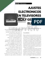 Ajustes Electronicos Tv RCA