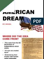 American Dream PPT