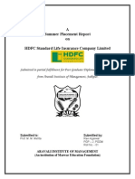 Report on Hdfc Banks